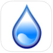 RainFall Free app review: raindrops are falling from the sky