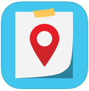 NoteSpot app review: write a note and save its location