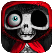 Little Dead Riding Hood app review: a great story book taking the classic tale to a new level