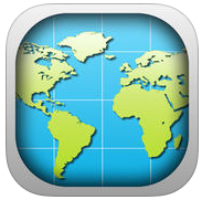 World Map 2015 app review: get to know location of various countries on global map