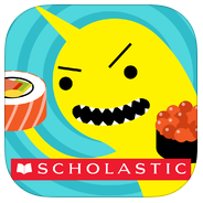 Sushi Monster app review: improving math fact fluency and mental calculation