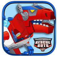 Transformers Rescue Bots: Dino Island app review: a fun interactive Transformers storybook