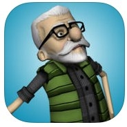 Dream Dodger - Escaping Reckless Retirement Home with Skinny Tired Grumpy Badass Grandpa Alfred app review: a fun new twist on the endless runner style video game